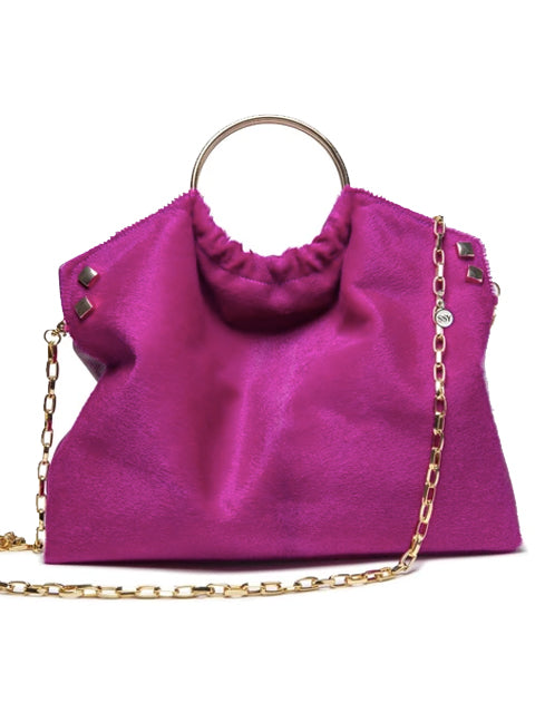 The Andrey Handbag- in Fuscia - SSY Designs