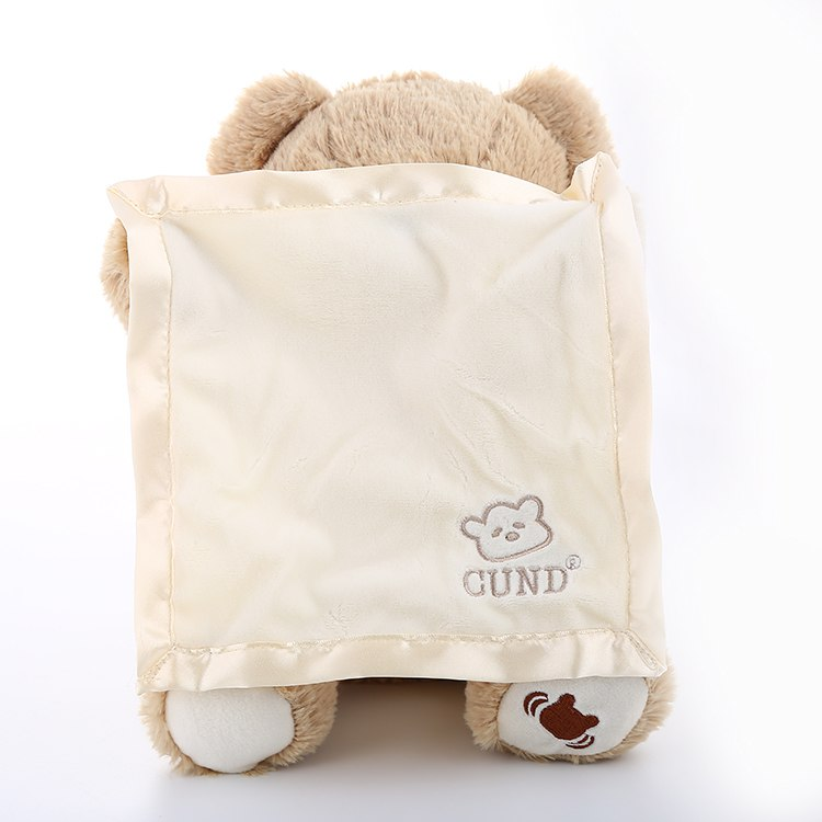 Peek-A-Boo Teddy Bear - Trinket City