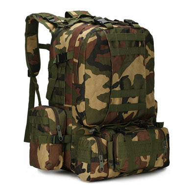 Raged Sheep Quality 75l Large Capacity Travel Military Camouflage Backpack Men Multifunctional Men Backpack Rucksack gcs Bag - Trinket City