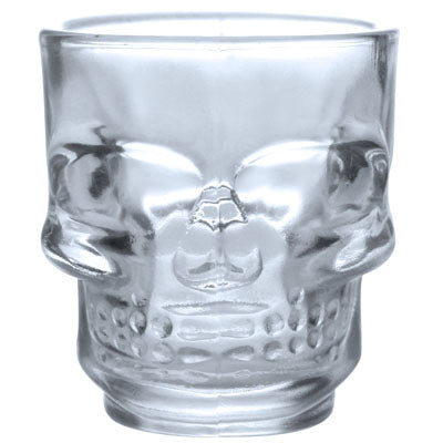 Shot Clear Skull Face