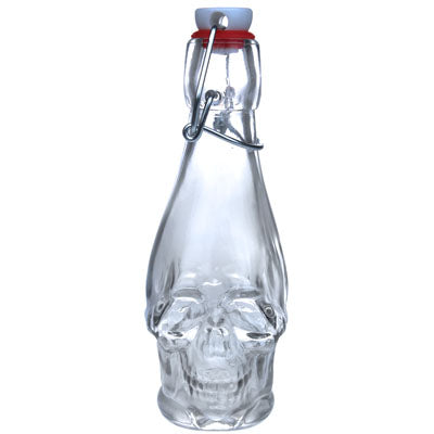 Bottle Clear Skull