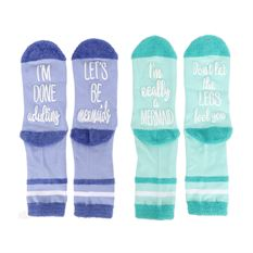 Socks Mermaid Sayings