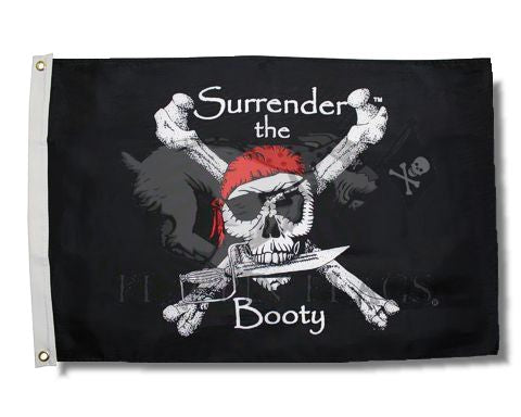 Flag 3x5 Surrender the Booty