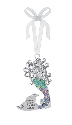 Ornament Mermaid Grandma