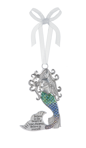 Ornament Mermaid Believe