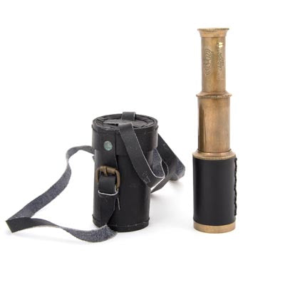 Telescope Leather Case Black