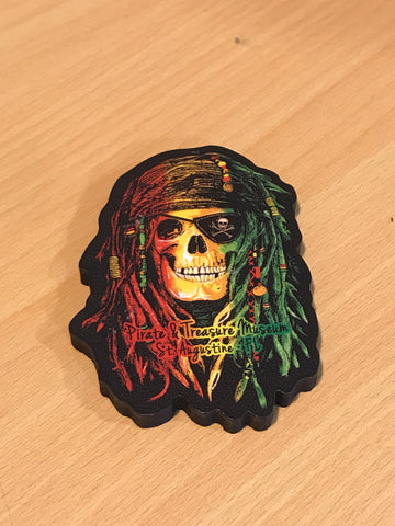 Magnet Rasta Pirate