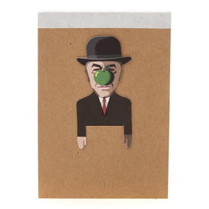 Noodoll: Pocket Sketchbook Rene Magritte