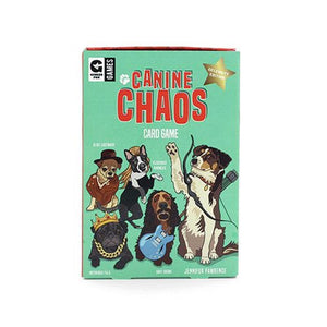 Canine Chaos Card Game