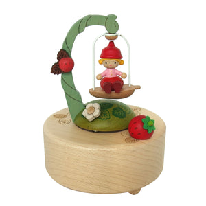Wooderful Life: Music Box Small Fairy on Swing