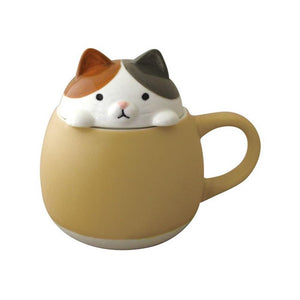 Animal Lid Mug/Sugar Pot Cat