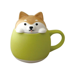 Animal Lid Mug/Sugar Pot Dog