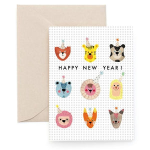 Carolyn Suzuki: Christmas Card Party Animals