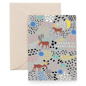 Carolyn Suzuki: Christmas Card Tundra Greetings