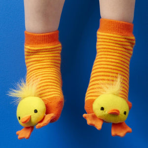 Rattle Socks Animal Duck