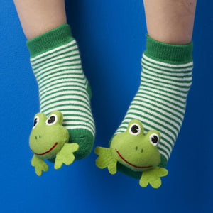 Rattle Socks Animal Frog