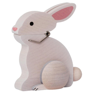 Animal Wooden Clip - Bunny