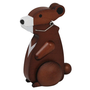 Wooderful Life: Animal Wooden Clip Bear