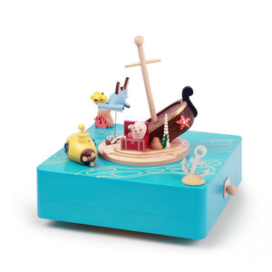 Music Box Undersea Treasure Hunt