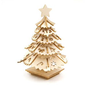 Wooden Model - Christmas Tree