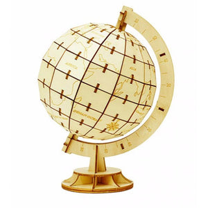Wooden Puzzle - Globe