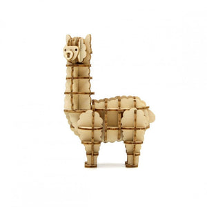 Kigumi: Wooden Model Alpaca