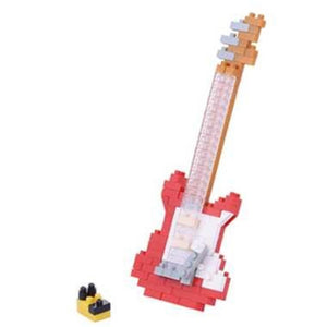 Nanoblock: Red Electric Guitar