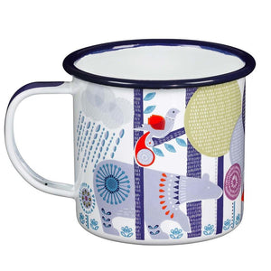 Folklore : Enamel Mug - Day