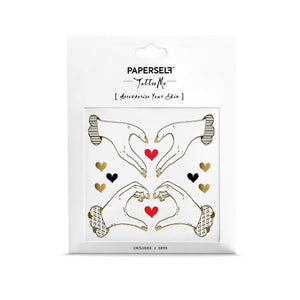 Paperself: Tattoos I Heart You