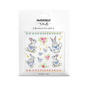 Paperself: Tattoos The Rabbits Tea Party