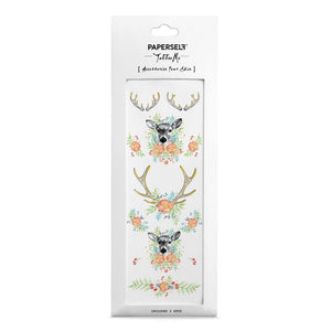 Paperself: Tattoos Floral Fawn