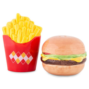 Salt & Pepper Set: Burger and Fries
