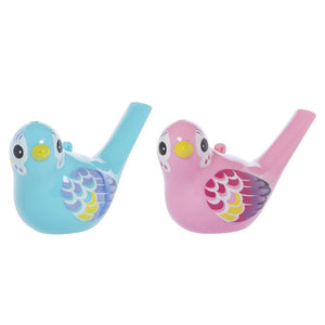 Chirpy Bird Whistle - Pink/Blue
