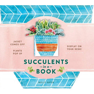 Succulents in a Book (A Bouquet in a Book)