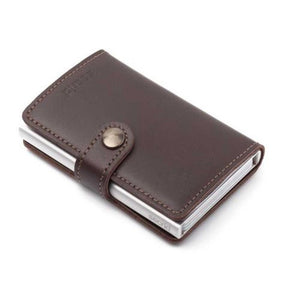 Secrid: Miniwallet Dark Brown Leather