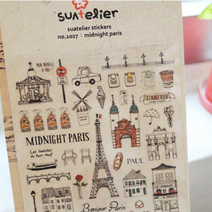 Stickers: Midnight Paris