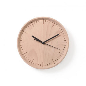 Meter : Wall Clock (Wood:Beech Color : B