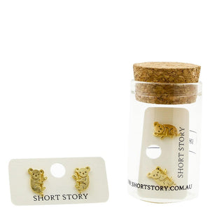 Short Story: Gold Koala Earrings
