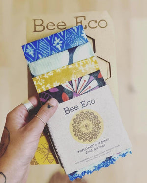 Bee Eco: Beeswax Wraps 4 pack