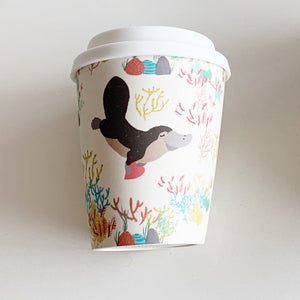 Bamboo Travel Cup - Platypus (Small)