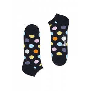 Big Dot Low Sock Black Multi