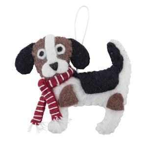 Ornament Beagle Scarf