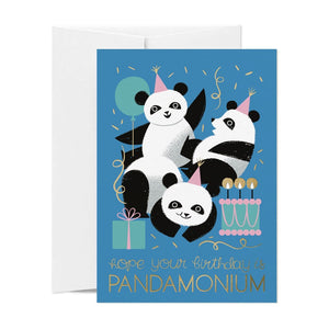Card Nest: Greeting Card Pandamonium