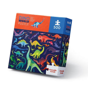 Crocodile Creek: 500pc Family Puzzle Dino World