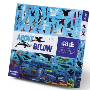 Crocodile Creek: Above & Below Puzzle 48pc Sea and Sky
