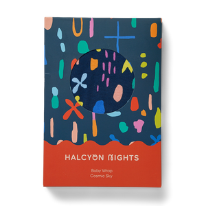 Halcyon Nights: Baby Wrap Cosmic Sky