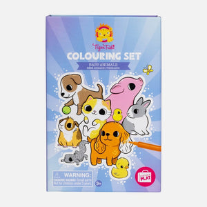 Tiger Tribe: Colouring Set Baby Animals