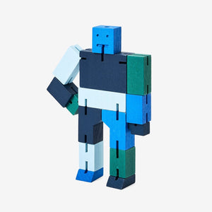 Areaware: Cubebot Capsule Collection Micro - Blue