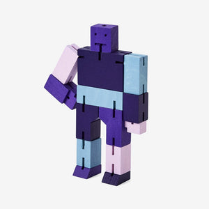 Areaware: Cubebot Capsule Collection Micro - Purple