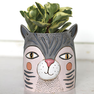Fat Cat Pot Planter